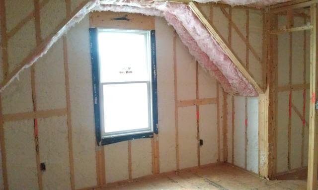 窓と断熱シート