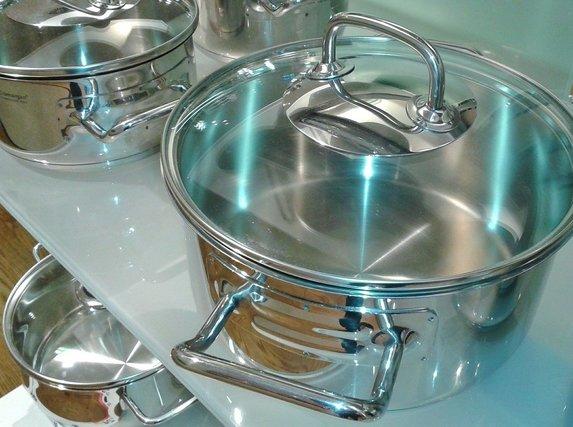 シルバー鍋