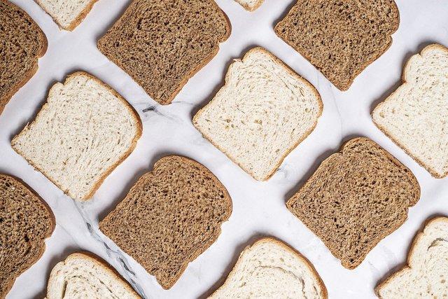 2種類の食パン