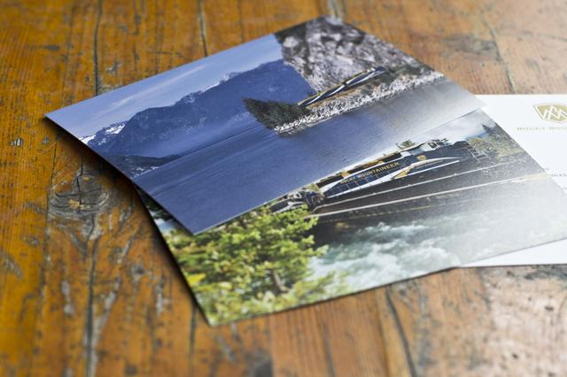 旅先からのポストカード