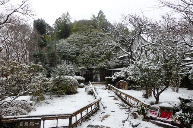 雪の宝泉院