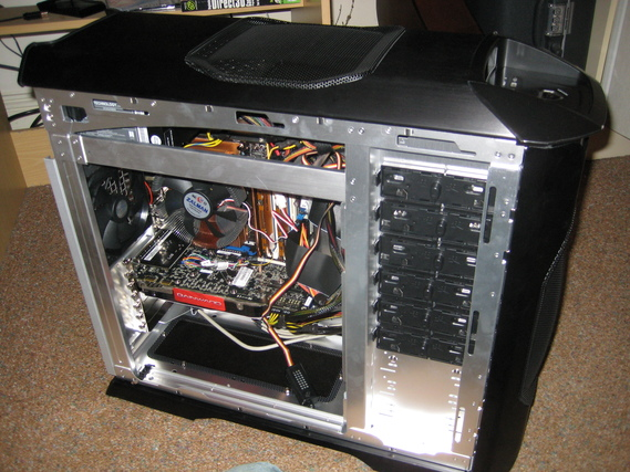 PCケースの背面