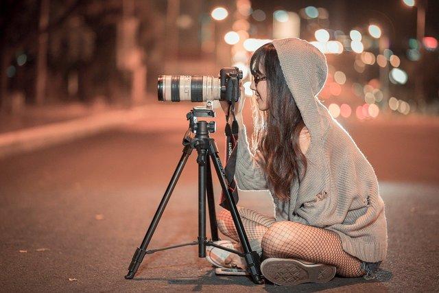 カメラを乗せる