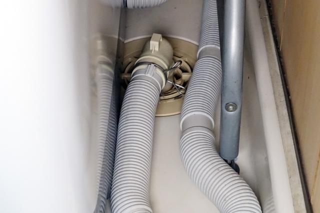 洗濯機の排水ホース