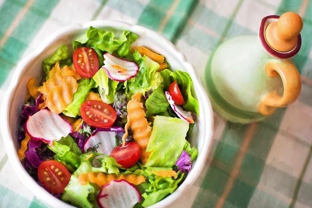 一口野菜のサラダ