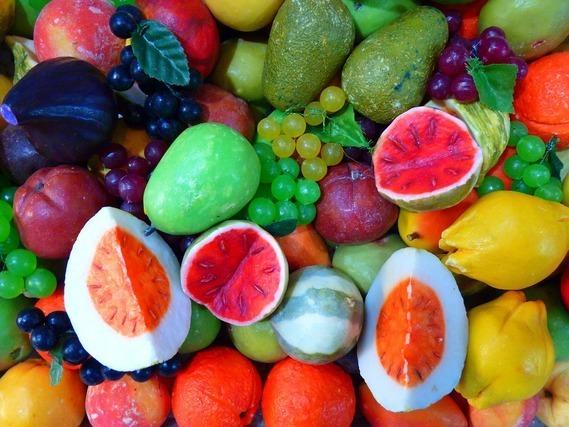 フルーツ型の石鹸