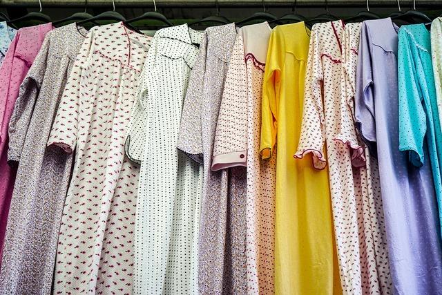 カラフルなパジャマ
