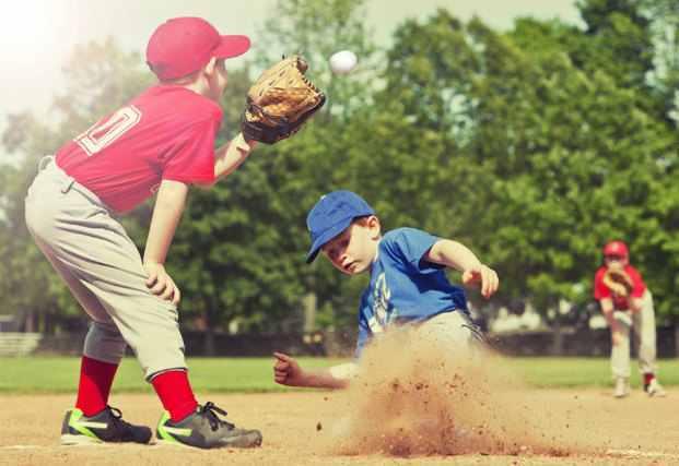 先天的な体力を活かして活躍する子供の画像