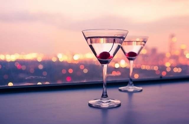 2つのグラス