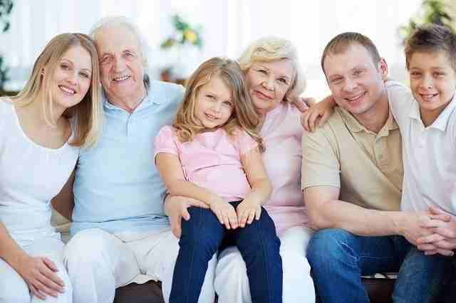 家族で過ごす休日