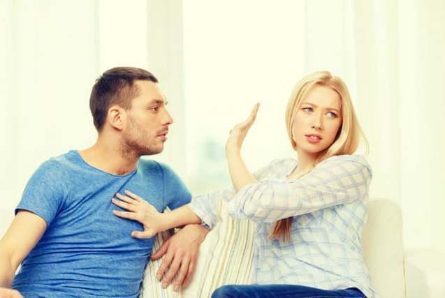 男性を拒否する女性