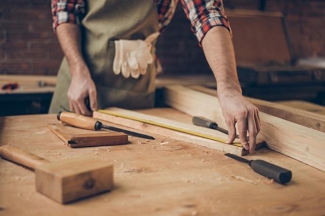 木材は加工しやすい