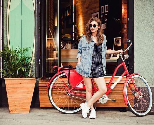 カゴのない自転車