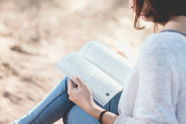 本読む女子