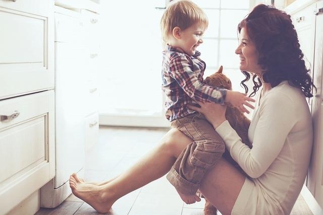 優しく母性愛溢れる人