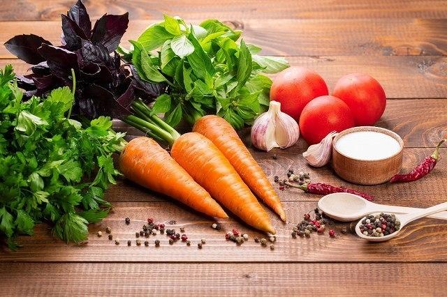 レタスなどの野菜