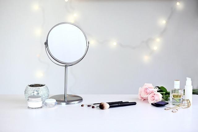 鏡とコスメ