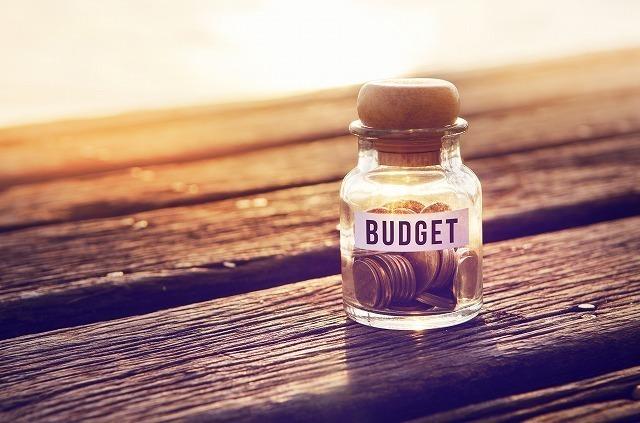 小銭の詰まった小瓶