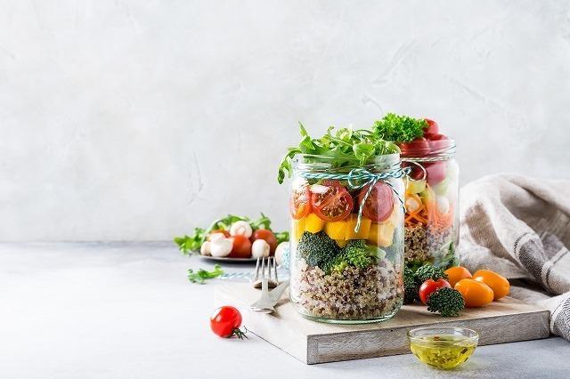 種類豊富な野菜