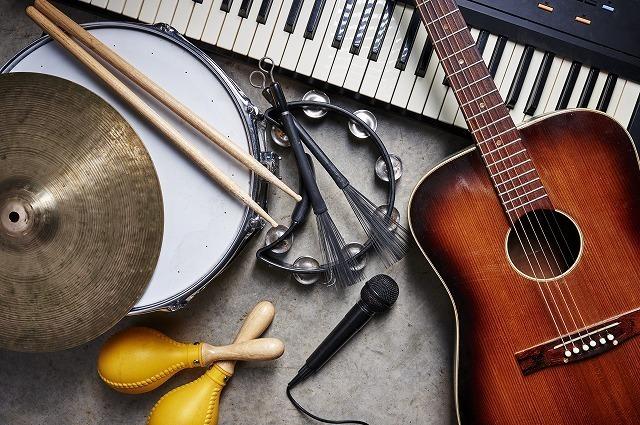 楽器とマイク