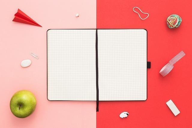 折り紙とノート