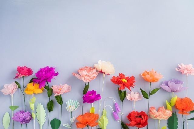 色鮮やかな花