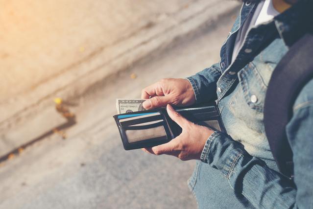 シンプルな財布