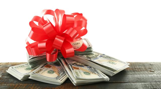 紙幣のプレゼント