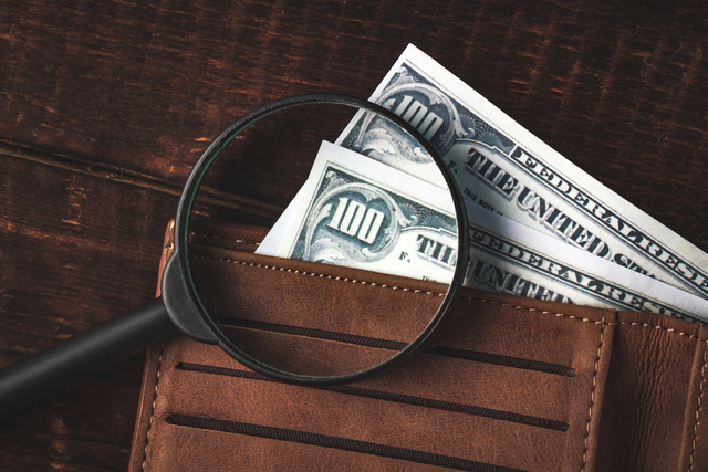 財布と紙幣