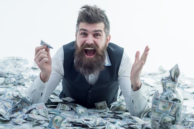 金遣いが荒い男性