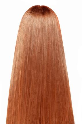 オレンジヘアカラーのイメージ画像