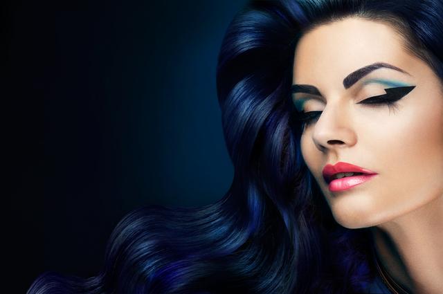 綺麗な黒髪