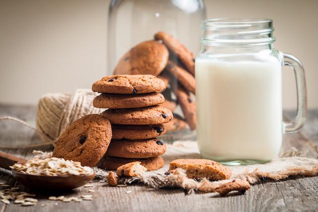 ミルクとクッキー