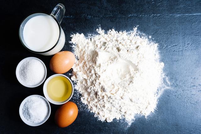 卵と調味料