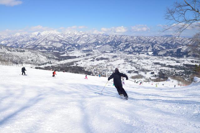 長野のスキー場