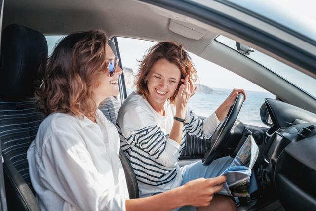 女子ドライブ