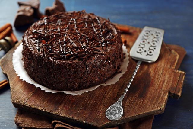 甘いケーキ