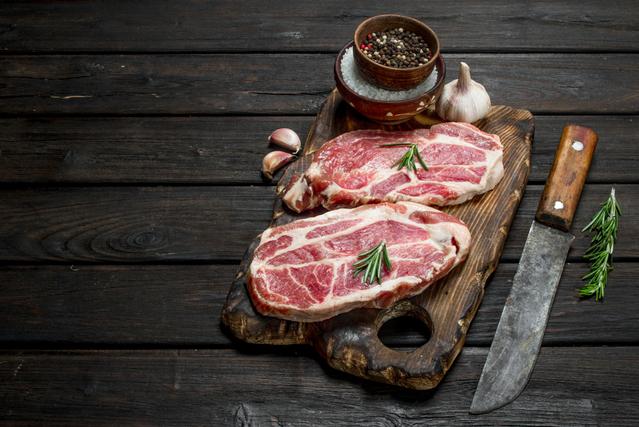 肉とまな板