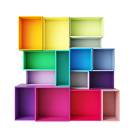 カラフルなボックス