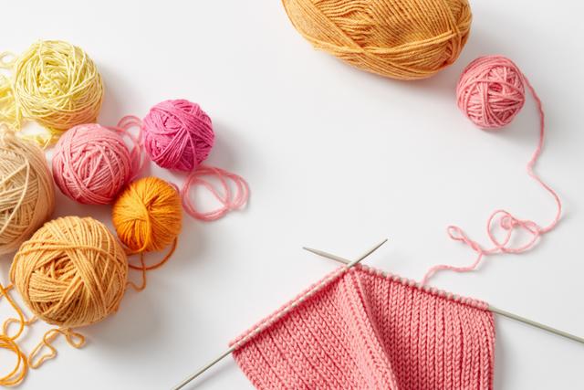 毛糸と編物