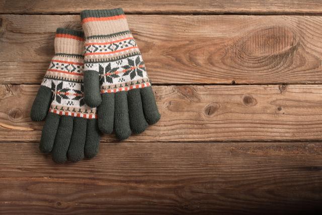 暖かい手袋