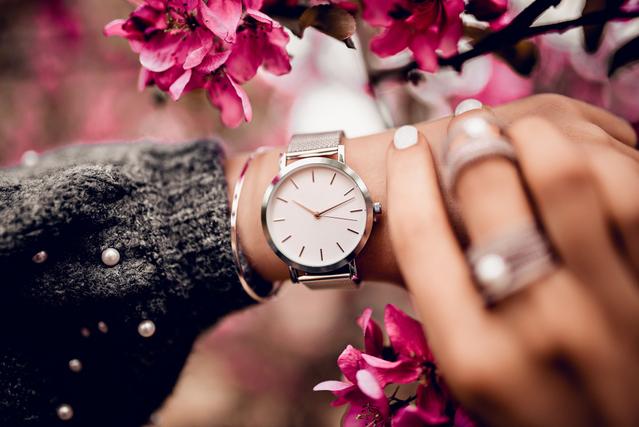 女性らしい時計