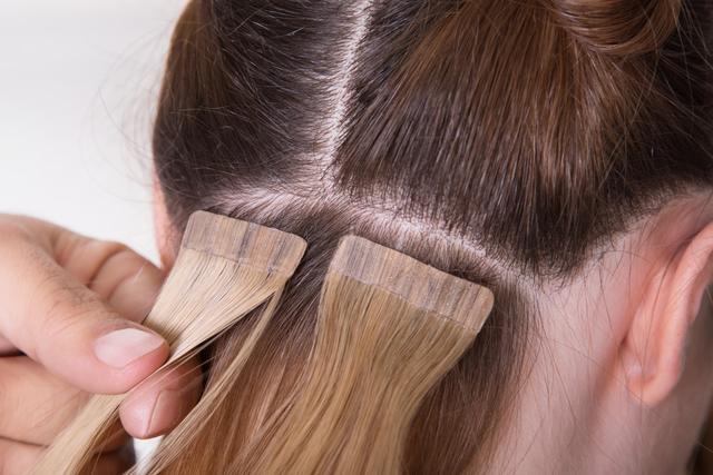 髪の毛の根本