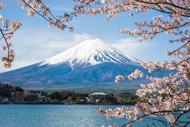 富士山の景色画像