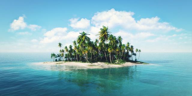 美しい海と島
