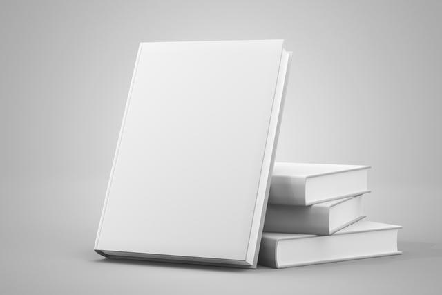 厚さのある白い本