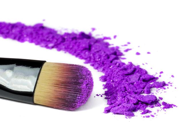 紫色の顔料