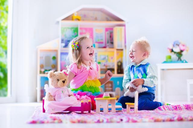 子供部屋のカーペット